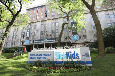 Exterior of SickKids